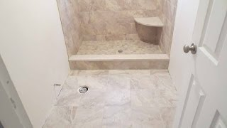 getlinkyoutube.com-Complete Shower Install Studs to Tile Parts 1 Through 10