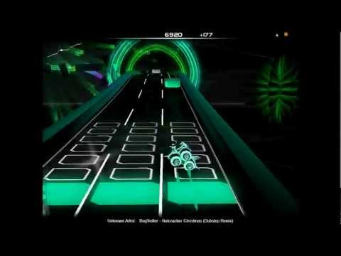 Audiosurf: BogTrotter - Nutcracker Christmas  Dubstep Remix