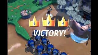 getlinkyoutube.com-Royal Revolt 2 raids 100% no scrolls 12/15/14