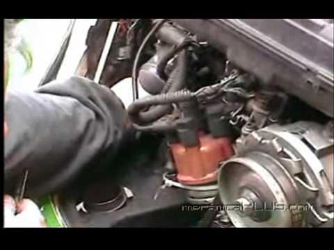Afinación VW Sedán - Cambio y calibración de bujias y checado de cables 2