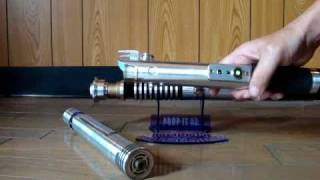 Custom Lightsabers: Newbie Luke,Tarty Bar, Badakin