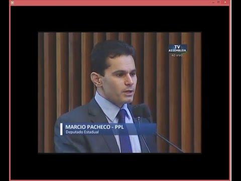 Deputado Marcio Pacheco cumprimenta o Juiz Dr. Ferdinando Scremin Neto - Cidade Portal