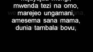 getlinkyoutube.com-Ali kiba - Mwana Lyrics | Bongo flava