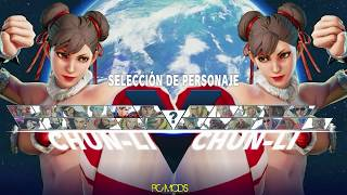 getlinkyoutube.com-Street Fighter V PC mods - Sexi Chun-li Chrismas by terryxx