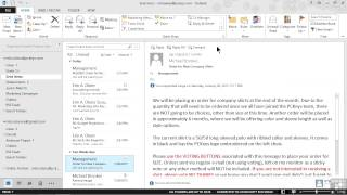 getlinkyoutube.com-Microsoft Outlook 2013 Tutorial | Tracking Resending And Recalling Sent Messages