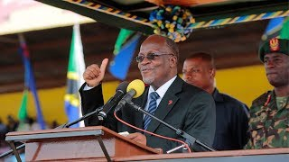 Rais Magufuli Atema Cheche Ziara ya Kibaha, Pwani