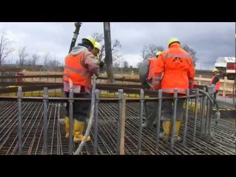 Výstavba Elektrárne Malženice / Construction of the Malženice Power Plant