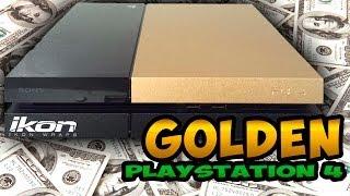 getlinkyoutube.com-★ Customize Your Playstation 4: Brushed Gold Finish!!!