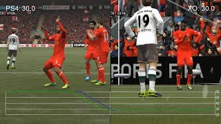 getlinkyoutube.com-FIFA 14 PS4 vs. Xbox One Frame-Rate Tests