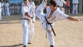 "getlinkyoutube.com-Highlight Kyokushin Summer Camp With Shihan Vsevolodov S. ""Kherson-2014"""