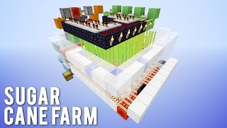 getlinkyoutube.com-Minecraft 1.8 Slimeblock Auto Sugar Cane Farm