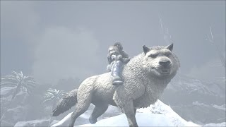 getlinkyoutube.com-[FR] Ark Survival Evolved - Ep 28 - Le loup ! Ahouuuuuuuuuuuuuu
