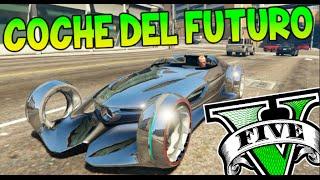 getlinkyoutube.com-GTA V MODS EL COCHE DEL FUTURO !! MERCEDES BENZ SILVER LIGHNING GTA 5 MOD PC Makiman