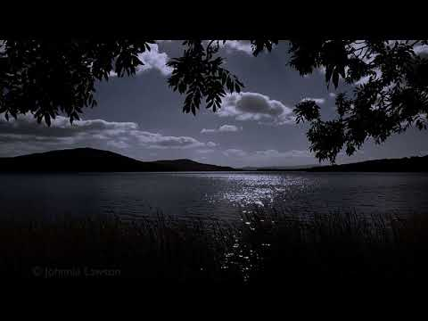 MEDITATION RELAXATION-Tranquil Sounds of Nature at Night-Calming Lapping Water-Soothing Wind