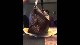 getlinkyoutube.com-Louis Vuitton Delightful MM NM damier