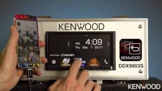 getlinkyoutube.com-2016-2017 DDX9903S Kenwood Smartphone Control Application Initial Setup Procedure (DNX893S)