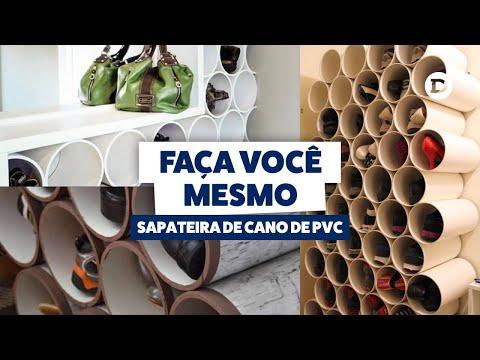 Faça você mesmo: Sapateira com Cano de PVC