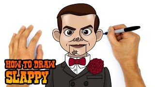 getlinkyoutube.com-How to Draw Slappy | Goosebumps