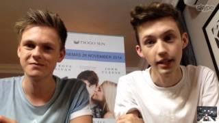 getlinkyoutube.com-We chat to Troye Sivan and Caspar Lee