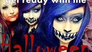 getlinkyoutube.com-get ready with me - Halloween ! ♥