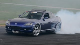 getlinkyoutube.com-Mazda RX8 turbo ~ burnout, drag & dyno