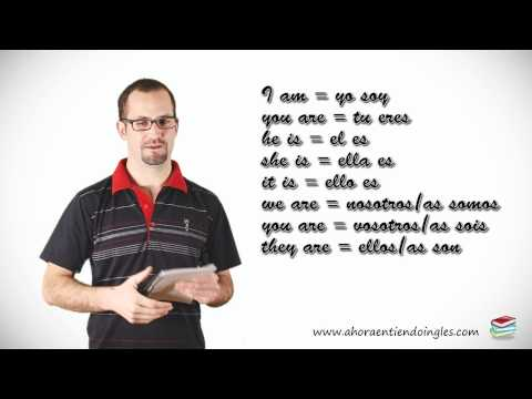 Curso Ingles Online / Leccion 4 / Verbo To be (ser o estar)