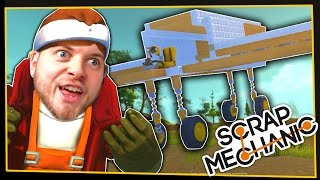 getlinkyoutube.com-Scrap Mechanic! - FLYING MACHINE! - [#4] | Gameplay |