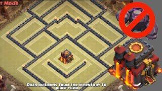 getlinkyoutube.com-Popular Th10 War Base! Anti-2 Star! Anti-Gowipe & Gowiwi! | Clash Of Clans