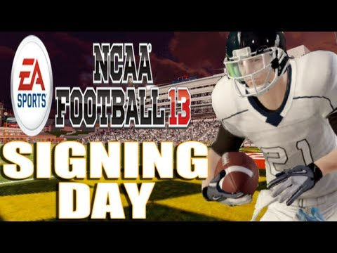 NCAA Football 13 - Road to Glory Ep.7 Signing Day