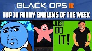 Black Ops 3 - Top 10 Funniest Emblems Of The Week #1
