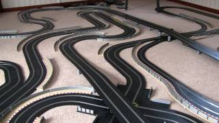 getlinkyoutube.com-200ft of Scalextric Track!