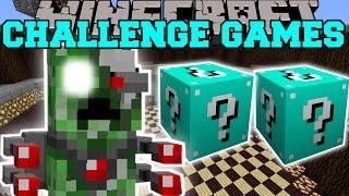 getlinkyoutube.com-Minecraft: ROBOT ALIEN CREEPER CHALLENGE GAMES - Lucky Block Mod - Modded Mini-Game