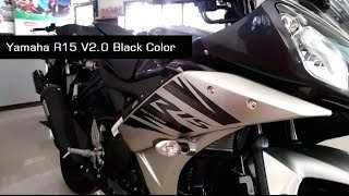 getlinkyoutube.com-Yamaha R15 Version 2.0 New Model Invincible Black colour | India