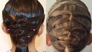 getlinkyoutube.com-Peinado Con Coletas| Peinados Para Ninas| Peinados Sencillos y Faciles| Cositasymanualidades