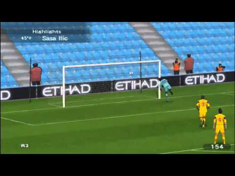 FK Razjareni Bikovi - Best Goals of 12 season  CTL (PES6)