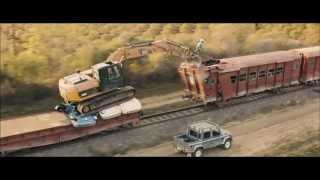 Skyfall - Opening Scene: Train Fight with Digger (1080p)