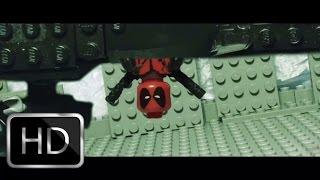 getlinkyoutube.com-Lego Deadpool Red Band Trailer 2 recreation shot for shot