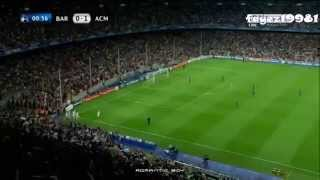 getlinkyoutube.com-Alexandre Pato ● Insane Speed Goal vs BARCELONA