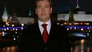 getlinkyoutube.com-Новогоднее поздравление Дмитрия Медведева 2009