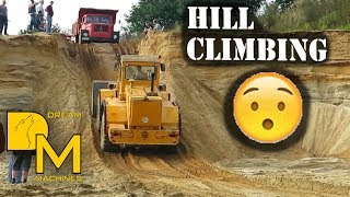getlinkyoutube.com-IS HE GOING TO MAKE IT!? HILL CLIMBING WITH HEAVY MACHINERY!