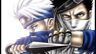 getlinkyoutube.com-Naruto - Kakashi Vs Zabuza/Naruto & Sasuke Vs Haku (SOLO BATALLA/LATINO)