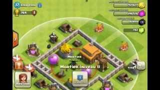 getlinkyoutube.com-Clash of clans - Bon village hdv 3