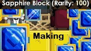 getlinkyoutube.com-Growtopia - Making Sapphire Block!