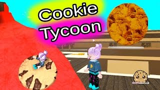getlinkyoutube.com-Roblox Riding Cookies On Lava & Building Cookie Tycoon - Online Game Lets Play