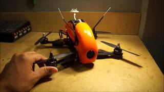 Hobbyking Robocat 270mm mini quadcopter maiden flight and review.