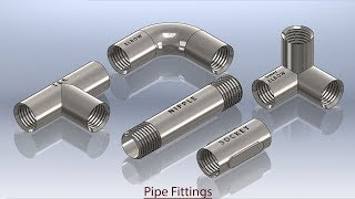 getlinkyoutube.com-Pipe Fittings SolidWorks Tutorial