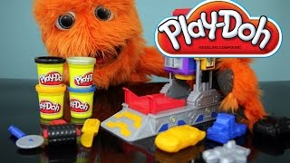 getlinkyoutube.com-Transformers Play Doh Autobot Workshop Playset Video Review // Fuzzy Puppet