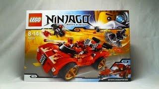 getlinkyoutube.com-LEGO Live Construction : Ninjago's X-1 Ninja Charger (1/2) [Français]