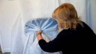 getlinkyoutube.com-charmingbows.com  Wedding chair covers. Make & Sell $$$$ home biz