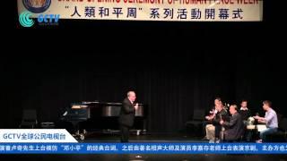 11月11日晚《全球人类和平周》系列活动开幕式